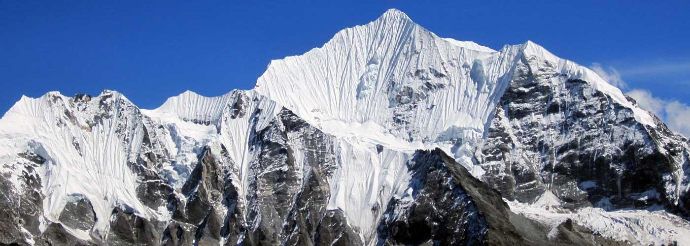 Langtang Range Mountains View