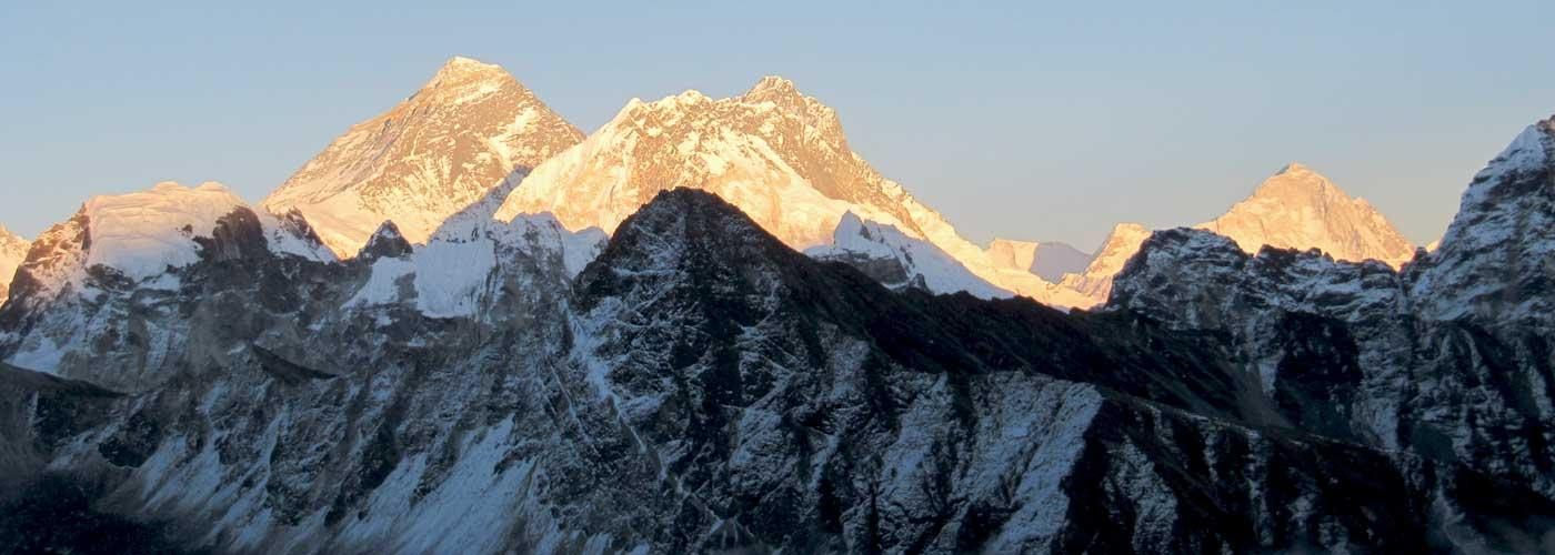 Mount Everest Panoramic View