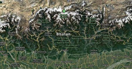 Bhutan Map Picture