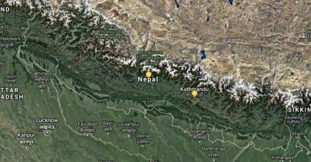 Nepal Map Picture