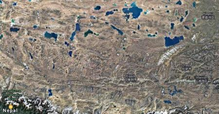 Tibet Map Picture