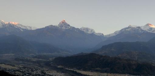 Annapurna Mountain View from Pokhara