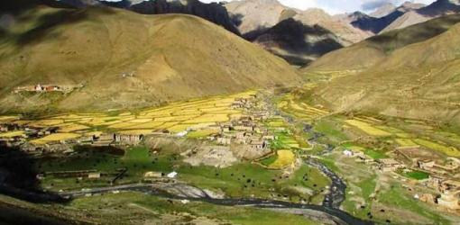 Dho Tarap Village at Upper Dolpo