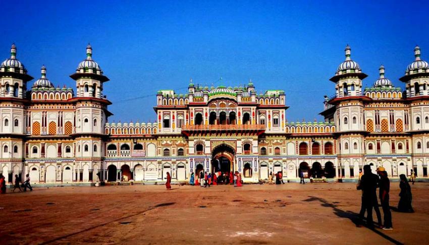 Janaki Temple at Janakpur