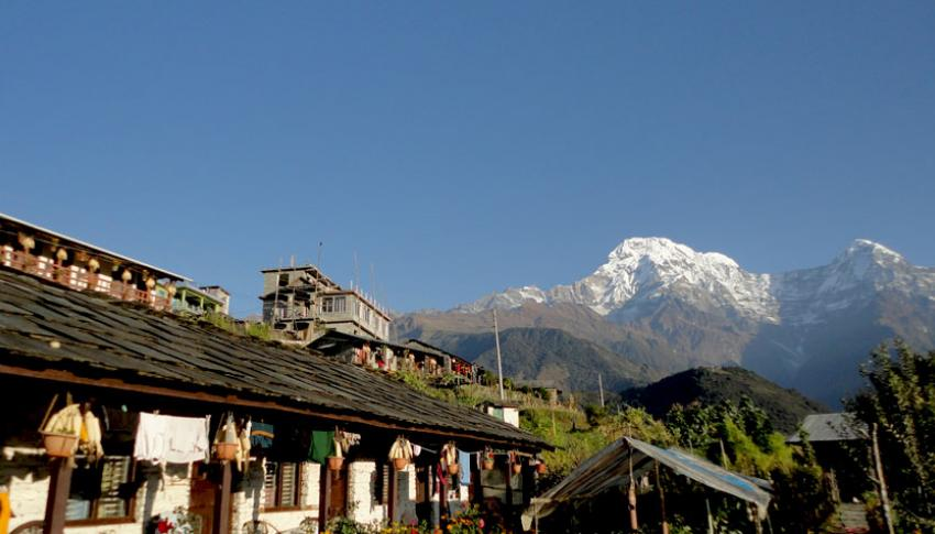 Mountain View from Ghandruk Village