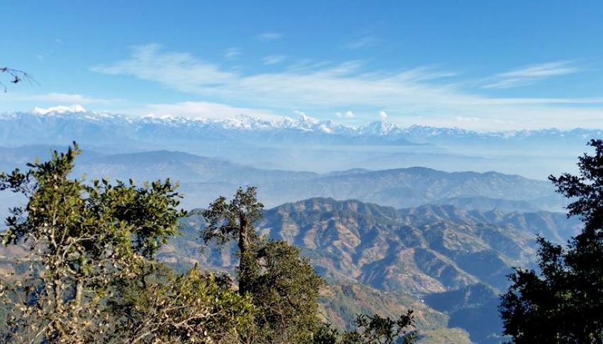 Mountain view from Phulchowki
