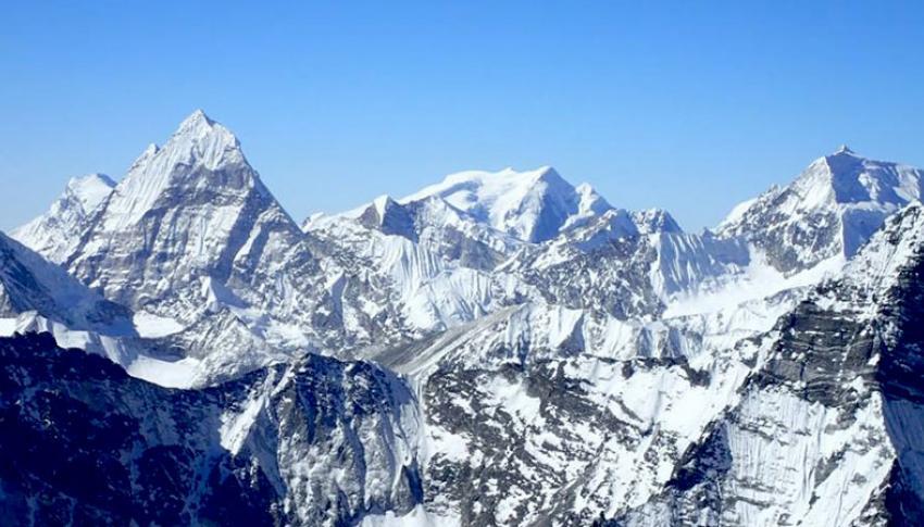 View from Mera Peak